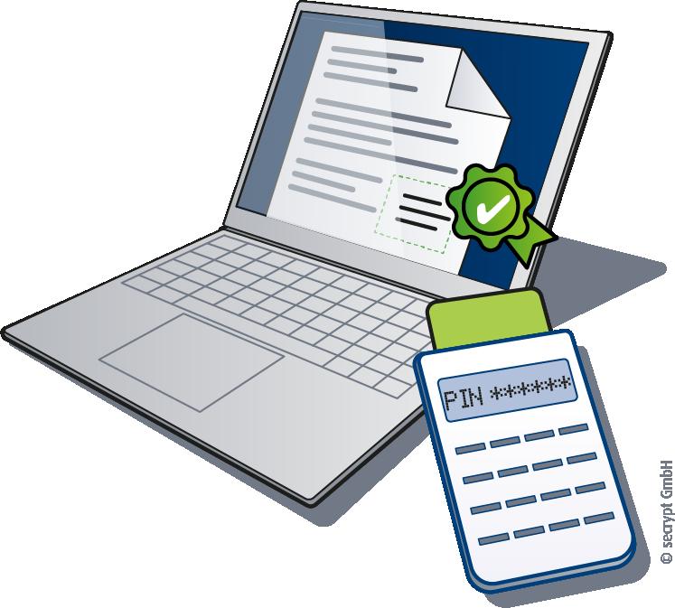 Dokumente elektronisch signieren, einzeln oder als Stapel - secrypt GmbH