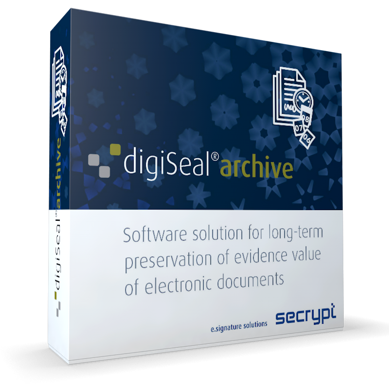 digiSeal archive der secrypt GmbH