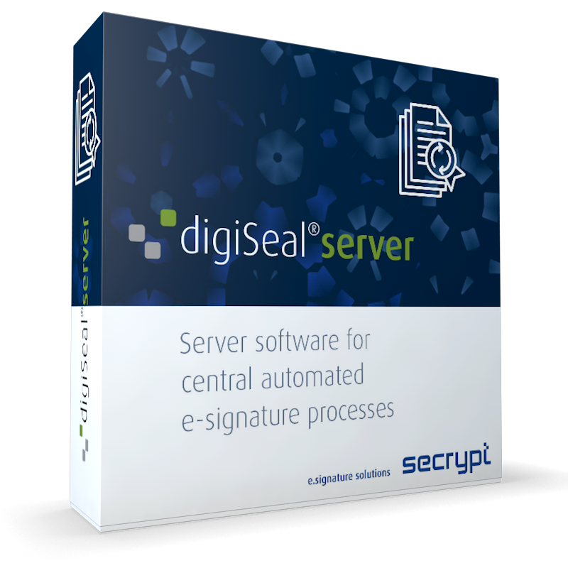 digiSeal server der secrypt GmbH