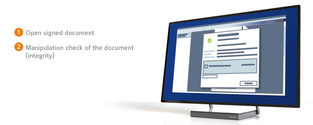 digiSeal reader - free software for verifying e-signatures